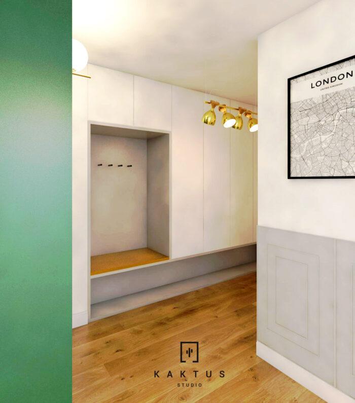 Aranżacja salonu - mieszkanie III 4