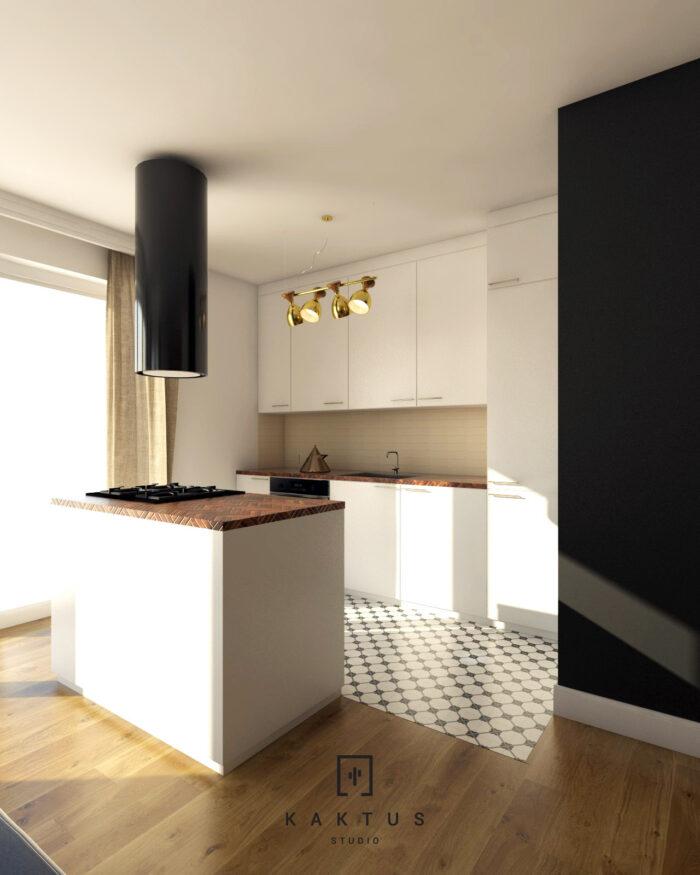 Aranżacja kuchni - mieszkanie III 2