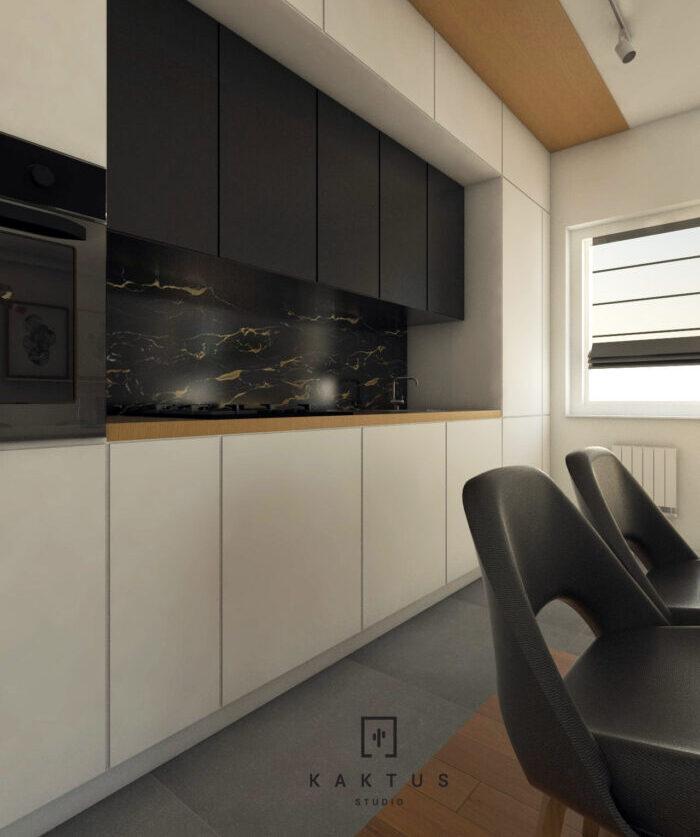 Aranżacja kuchni - mieszkanie IV 1