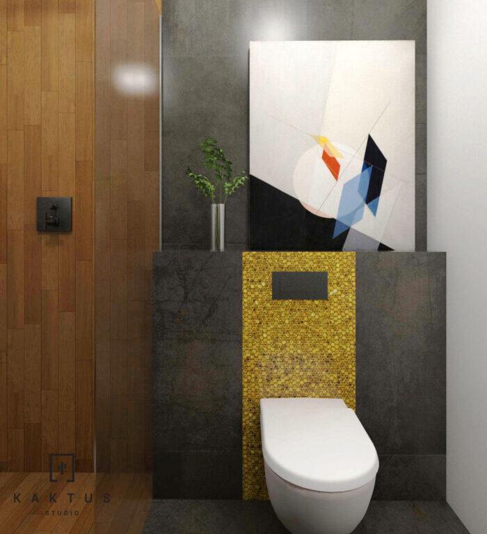Aranżacja łazienki - dom I 6