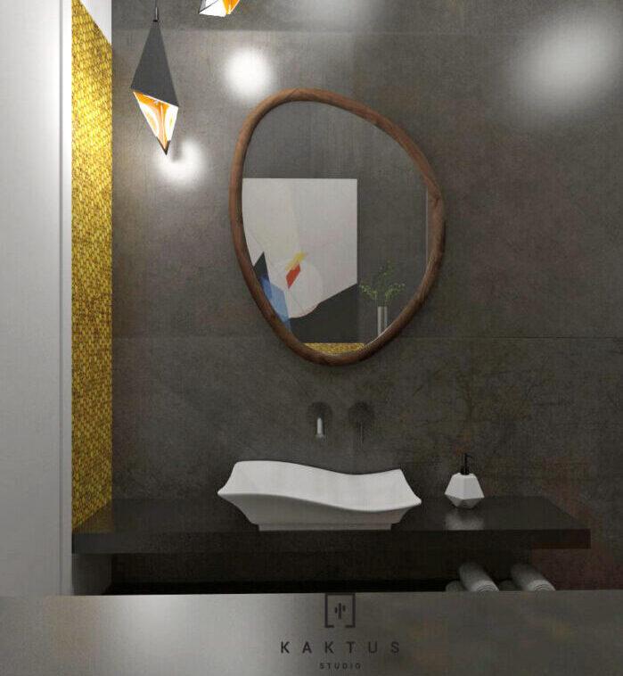 Aranżacja łazienki - dom I 3