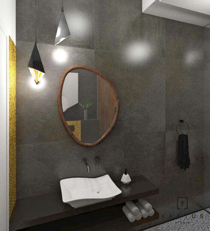 Aranżacja łazienki - dom I 11