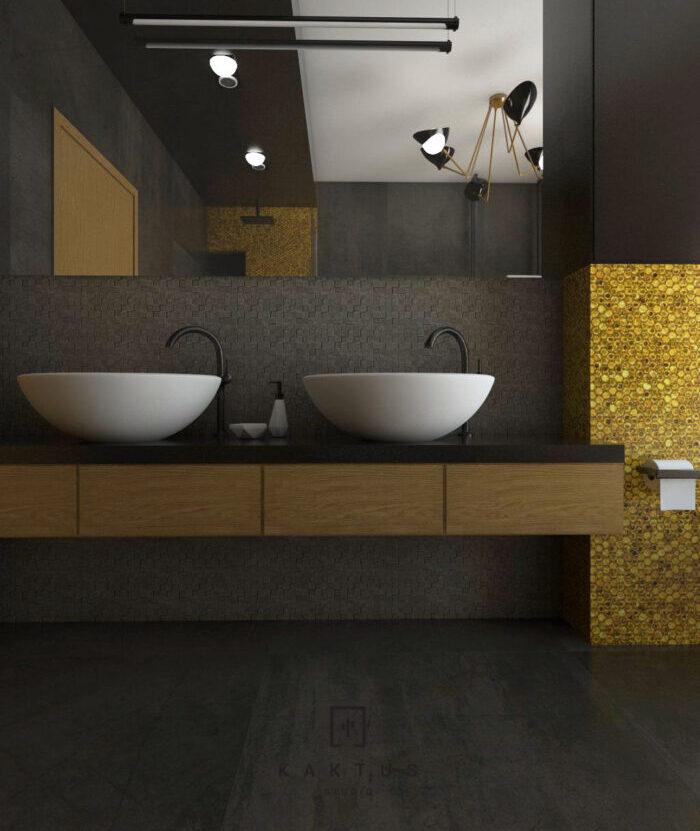 Aranżacja łazienki - dom I 4