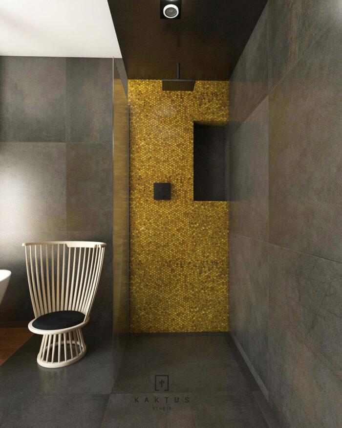 Aranżacja łazienki - dom I 7