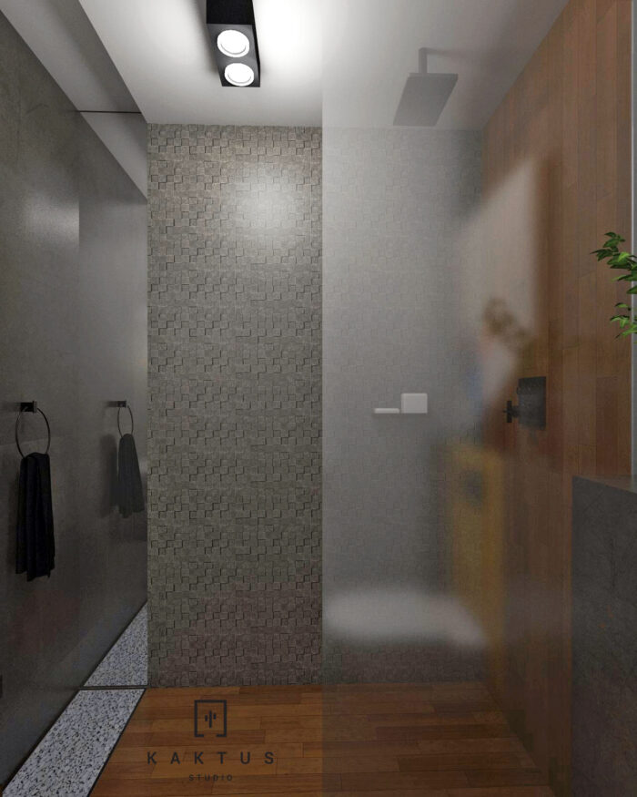 Aranżacja łazienki - dom I 8