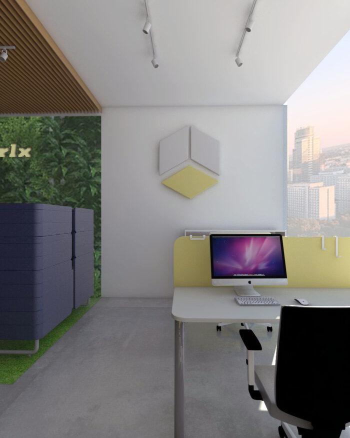 Aranżacja przestrzeni biurowej I 2