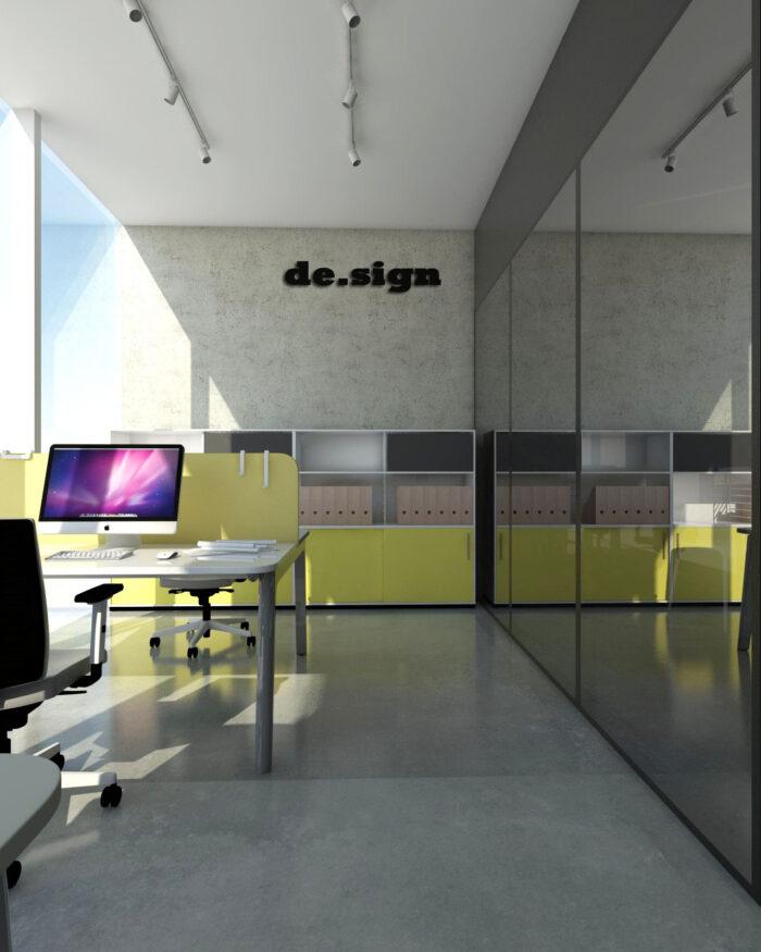 Aranżacja przestrzeni biurowej I 3