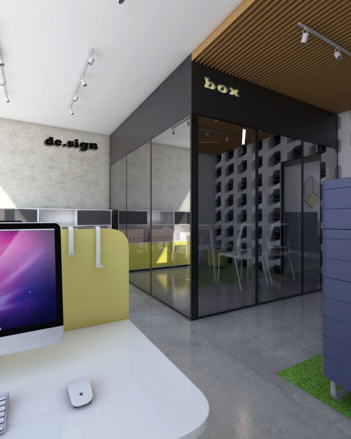 Aranżacja przestrzeni biurowej I 4