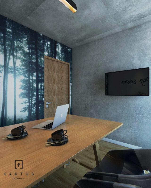 Aranżacja przestrzeni biurowej II 1