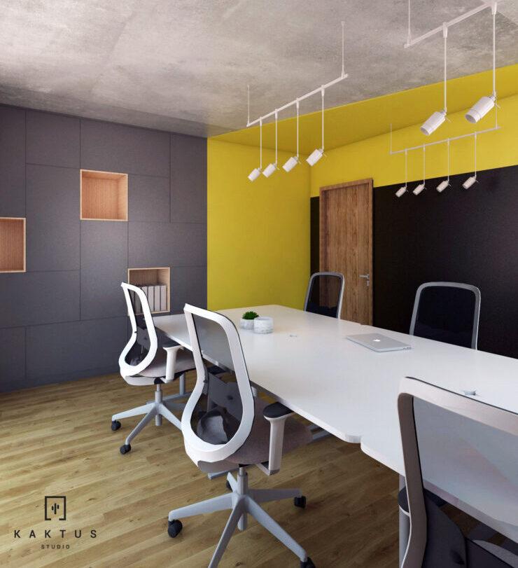 Aranżacja przestrzeni biurowej II 6