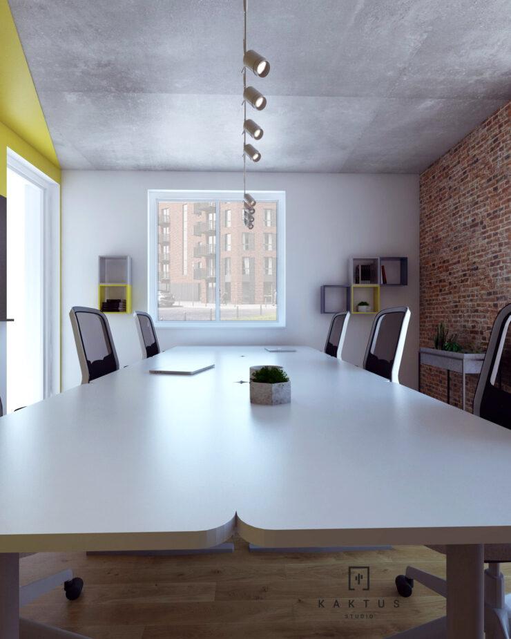 Aranżacja przestrzeni biurowej II 5