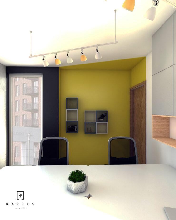 Aranżacja przestrzeni biurowej II 7