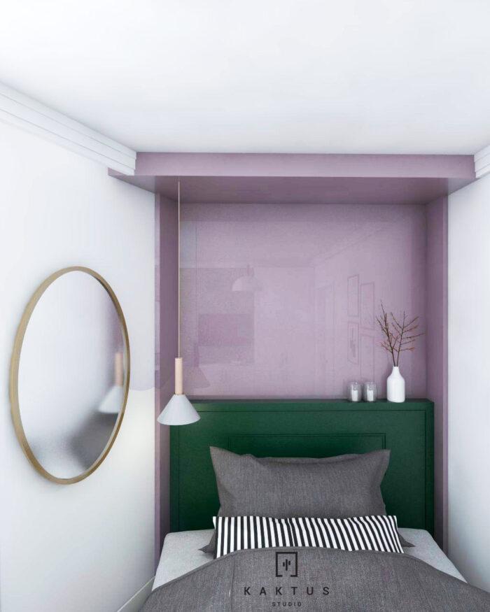 Aranżacja sypialni - mieszkanie III 2