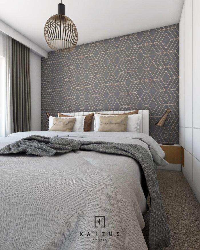 Aranżacja sypialni - mieszkanie IV 1