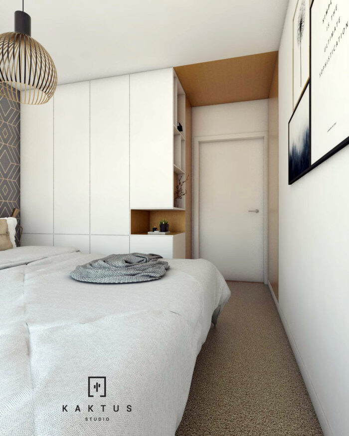 Aranżacja sypialni - mieszkanie IV 3