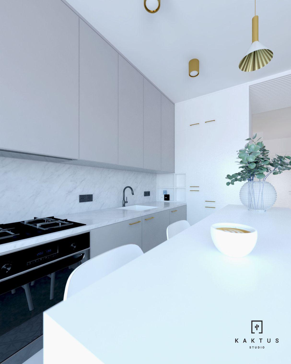 aranżacja kuchni 2 mieszkanie 4