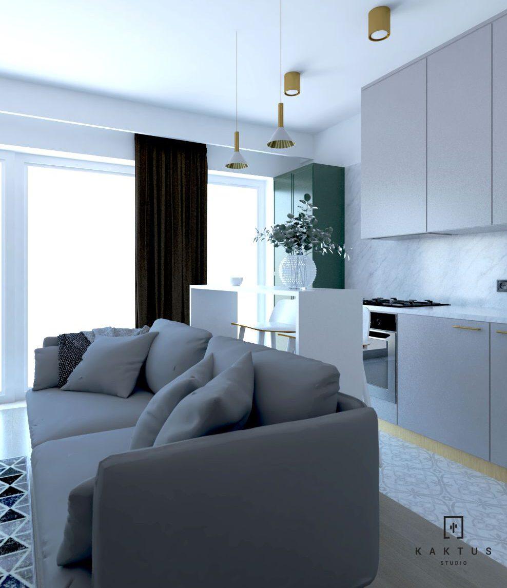 aranżacja kuchni 4 mieszkanie 4