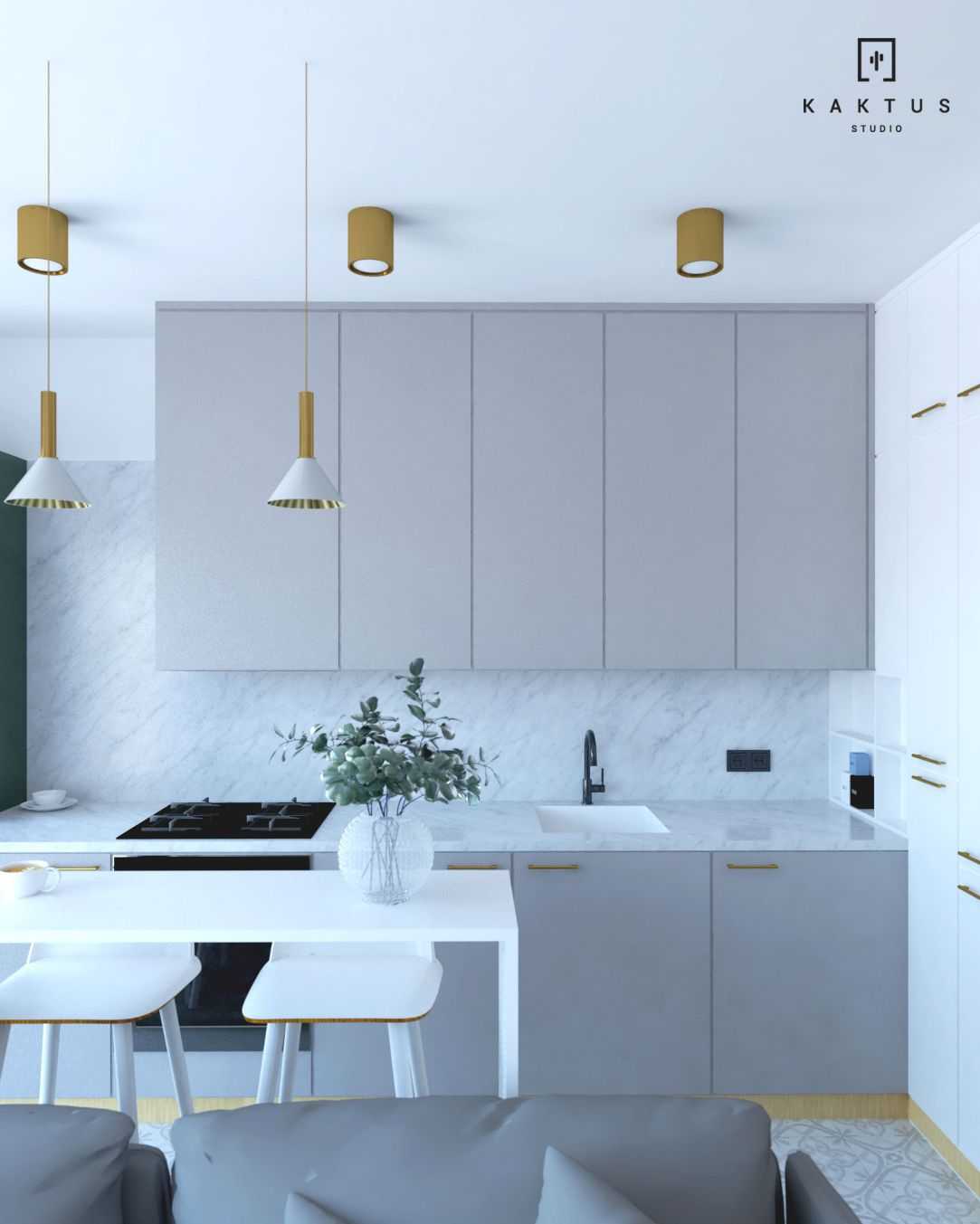 aranżacja kuchni mieszkanie 4