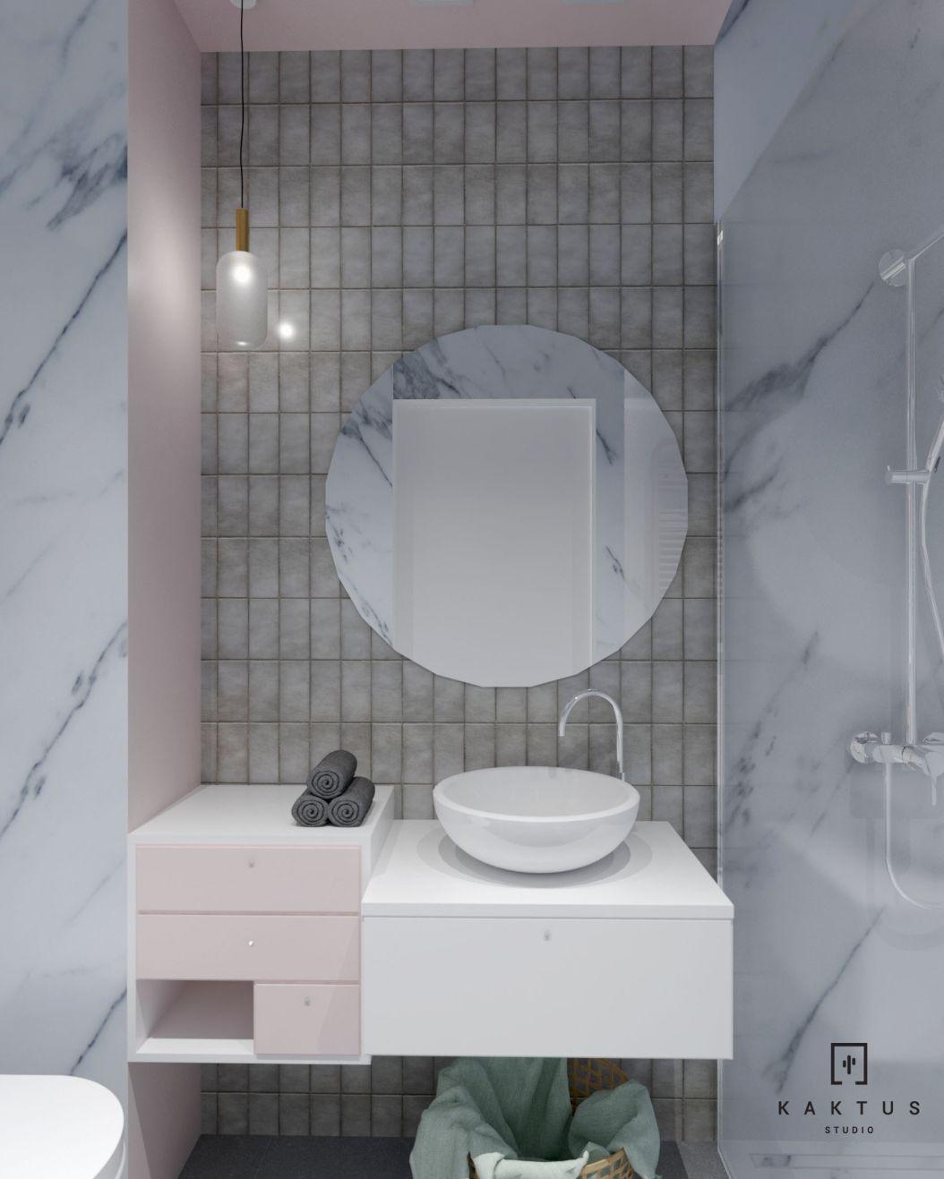 aranżacja łazienki 2 mieszkanie 4