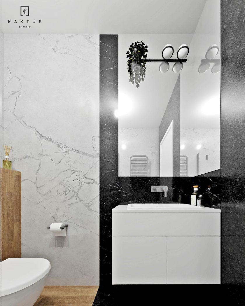 aranżacja malej łazienki dom 2