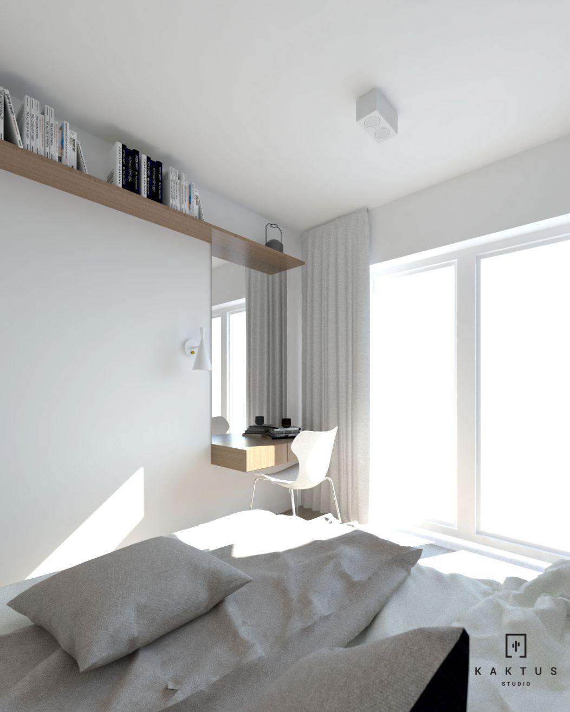 aranżacja sypialni 2 mieszkanie 4